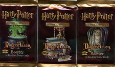 HARRY POTTER CCG - DIAGON ALLEY BOOSTER PACKS X3 - FACTORY SEALED FREE SHIPPING!