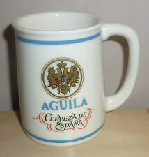 FRANKLIN MINT -WORLD'S GREATEST BREWERIES BEER TANKARD- AGUILA SPAIN (G612)