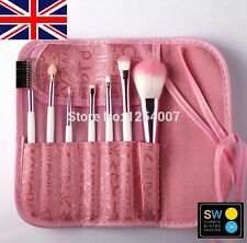 7 Pcs PROFESSIONAL MAKE UP PENNELLI Foundation Brush SET KIT UTENSILI Eye Shadow