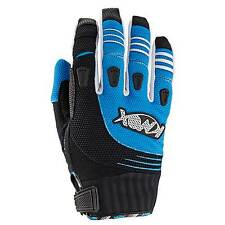 Knox Oryx Motocross / MX / Enduro Gloves Blue / Black - Small (S)