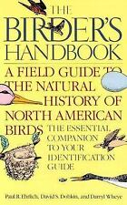 The Birder's Handbook: A Field Guide to the Natural History of North American Bi
