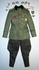 DID 3R 1/6th Scale WW2 German Officer's Uniform - Sepp Dietrich