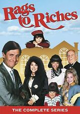 Rags to Riches: The Complete Series Collection TV Show DVD Seasons Box Set NEW!