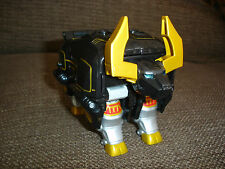 BANDAI POWER RANGERS WILD FORCE BLACK GOLD BULL ZORD TRANSFORMER