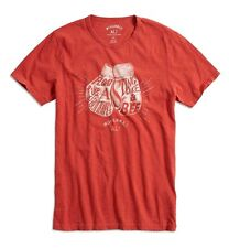 Lucky Brand - NWT - Mens L - Red Muhammad Ali Boxing Gloves 100% Cotton T-Shirt