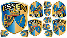 Small Crest Sign Germany Essen Sticker Set Car Caravan Bike Mobile Phone