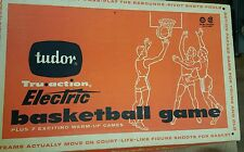 Vintage 1960 Tudor Tru Action Electric Basketball Game