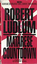 The Matarese Countdown by Robert Ludlum 1997 on Audio Cassettes Abridged