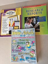 3 Books Research Report Writing Grades 3-6