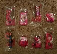 McDonald's Barbie Spy Squad Happy Meal Toys Complete Set Of 8 New 2016