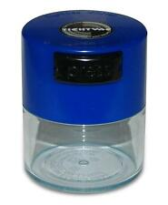 .12 Liter Tightvac Airtight Smell Proof Vacuum Sealed Container Blue Clear