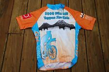 Colorful Adult Medium Tappan Zee Bridge 2009 MS Ride Cycling Shirt new with tags