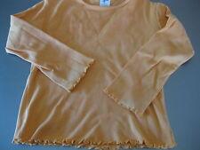 T-Shirt, Shirt, Gr.116, von Palomino, Orange, Volant, Langarm, wunderschön,