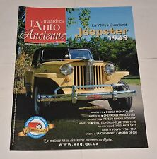 LE MAGAZINE DE L'AUTO ANCIENNE FRENCH JUIN 2014 WILLYS OVERLAND JEEPSTER 1949