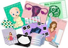 Baby Shower Party Games  ~  6 GAMES  UNISEX  ~  up to 20 players