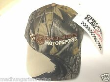 DODGE MOTORSPORTS REAL TREE CAMO HAT CAP  NEW W/TAG  NASCAR HEMI  CHARGER RAM