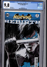 NIGHTWING REBIRTH #1   DC COMICS CGC 9.8