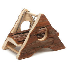 Carno New Pine Wooden Triangle Swing Toys for Hamster 12.5×9.5×9cm (H)