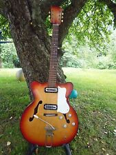 Vintage Hofner(?),  Klira or  Huettl ACOUSTIC archtop GUITAR Germany 50-60`s.