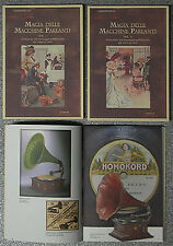 2 volumi Quaderni di Antique Radio MAGIA MACCHINE PARLANTI Fonografi Grammofoni
