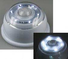 LED-Wandleuchte mit Bewegungsmelder silber magnetisch wandlampe Batteriebetrieb