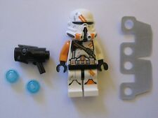 New Lego Airborne Clone Trooper with Working Shooter and Kama Cloth 75036