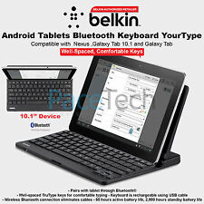 """Belkin Tablet Android Tastiera Bluetooth YourType Qwerty Layuout 10.1"""""""