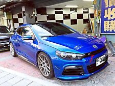NEW FOR VW SCIROCCO R ONLY CARBON FRONT LIP SPOILER KZ STYLE