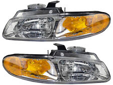 Dodge Grand Caravan Town & Country Voyager 96 - 99 Non Quad Type Head Light Pair