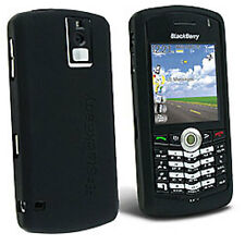 Black SILICONE Protector CASE SKIN COVER for Blackberry Pearl 8100 8120 8130