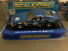 M/B RARE SCALEXTRIC USA  FORD MUSTANG 1969 BOSS 302 C3539 DAN GURNEY USA LIMITED