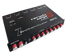 Cerwin Vega's Mobile Eq-770 Car Equalizer - Parametric - Bass - 7 Band - Black