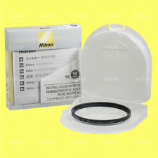 Genuine Nikon 58mm Neutral Color NC Filter Lens Protector Clear Filter NC-58 mm