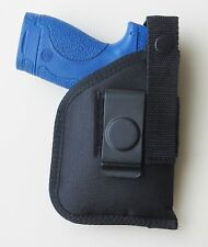 Inside Pants IWB Holster for S&W M&P SHIELD with Underbarrel LM or CT Laser