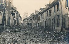 Guerre WW1 14-18 -Carte Photo Fère-en-Tardenois Rue du Village Aisne - GV329