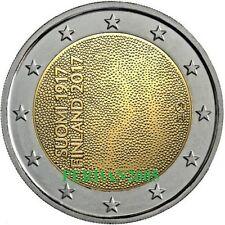 FINLANDIA 2017 2 EURO FDC UNC 100° ANN. INDIPENDENZA FINNLAND SUOMI FINLAND