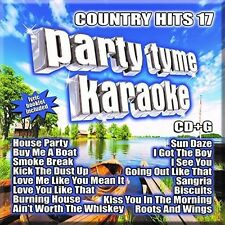 Party Tyme Karaoke: Country Hits 17 - Various Artist (2015, CD NIEUW)