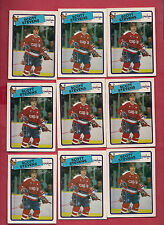 9 X 1988-89 OPC # 60 CAPITALS SCOTT STEVENS  CARD