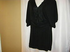 NWOT 2 Piece Studio M Woman Black Knit Top & Skirt Plus Size 2X & 3X (2 Pieces)