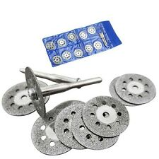 10X 22mm Diamond Disc Cut Off Wheels Rotary Cutting Tool Arbor Drill fit Dremel