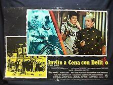 FOTOBUSTA CINEMA - INVITO A CENA CON DELITTO - E. BRENNAN - 1976 - COMMEDIA NERA