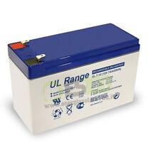Batteria UltraCell 7Ah 12V AGM impianti allarmi lampade emergenza sicurezza ups
