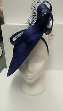 Condici Disc Hat Mother of the Bride Royal Blue BRAND NEW RRP £190