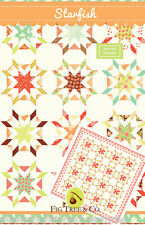 Quilt Pattern ~ STARFISH ~ by Fig Tree Quilt Designs