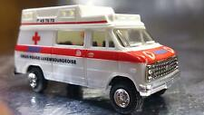 * Trident 90065-A Croix Rouge Luxembourgeoise Ambulance HO 1:87 Scale