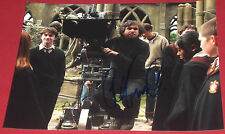 ALFONSO CUARON SIGNED HARRY POTTER DIRECTOR IN ACTION ON SET PHOTO AUTOGRAPH COA