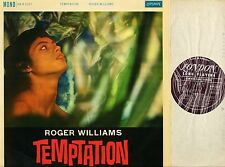 ROGER WILLIAMS temptation HA-R 2337 original uk mono pressing 1960 LP EX/EX