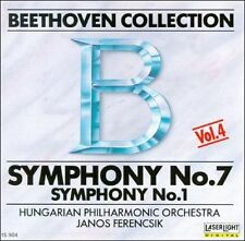 "CLASSICAL MUSIC CD "" BEETHOVEN COLLECTION SYMPHONY NO.7 "" HUNGARIAN PHIL. ORCH."