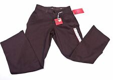 LEE Womens Straight Leg Comfort Fit JEANS PANTS Size 4P Brown NWT
