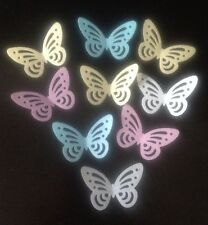 28 Multi Edible Rice Paper/wafer BUTTERFLY Cake Toppers, Decorations Birthdays